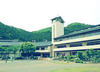 建物前,村,屋外,夏,曇り,昭和レトロ