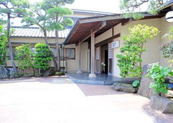 和風,日本家屋,建物前,夏,屋外,晴れ