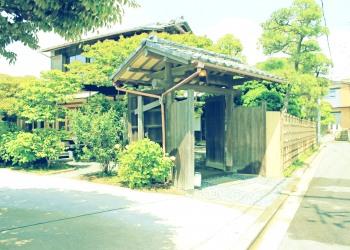 建物前,町,屋外,夏,昭和レトロ