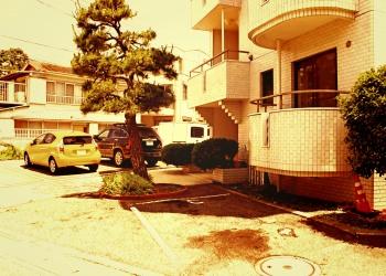 建物前,町,屋外,夏,晴れ,ヴィンテージ