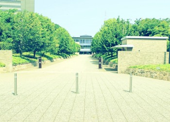 建物前,都市,屋外,夏,晴れ,昭和レトロ
