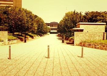 建物前,都市,屋外,夏,晴れ,ヴィンテージ