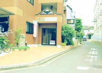 建物前,町,夏,屋外,晴れ,昭和レトロ