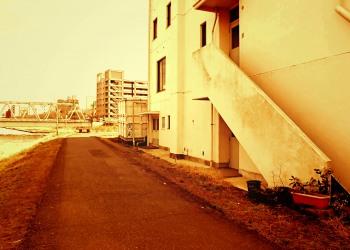 建物前,町,屋外,春,秋,ヴィンテージ