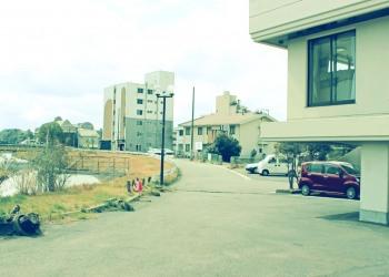 建物前,町,屋外,春,昭和レトロ