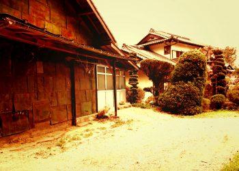 建物前,町,屋外,夏,曇り,ヴィンテージ