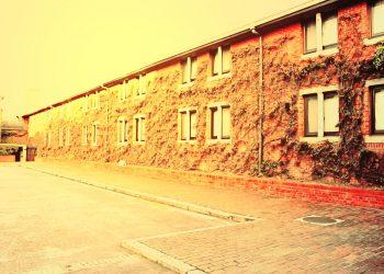 建物前,町,曇り,屋外,ヴィンテージ