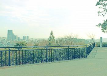 展望,都市,秋,屋外,曇り,昭和レトロ