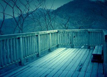 展望,アウトドア,屋外,冬,晴れ,ホラー