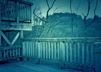展望,アウトドア,屋外,冬,曇り,ホラー