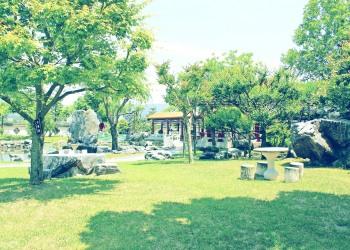 洋館,洋風庭園,晴れ,屋外,夏,昭和レトロ
