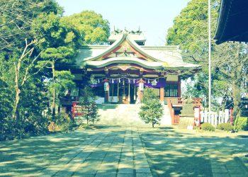 神社,町,和,屋外,夏,晴れ,昭和レトロ