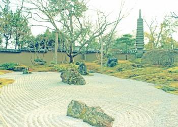 日本庭園,屋外,秋,曇り,昭和レトロ