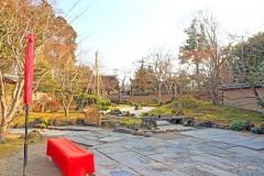 日本庭園,和,屋外,秋,晴れ
