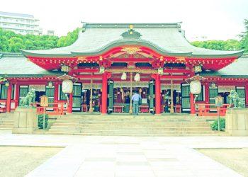 神社,町,屋外,夏,晴れ,昭和レトロ