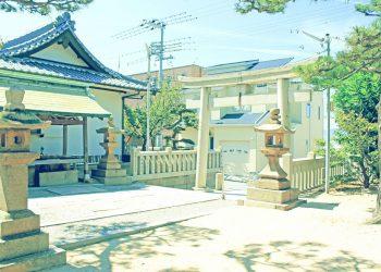 神社,村,屋外,夏,晴れ,昭和レトロ